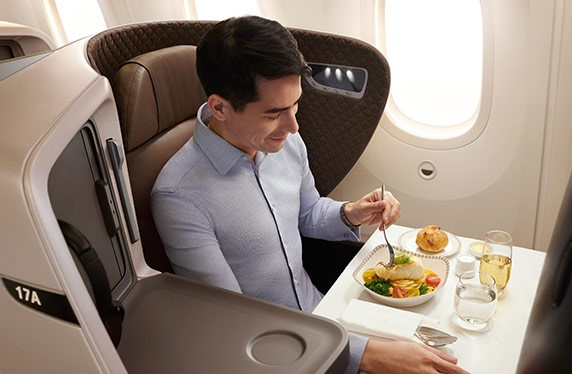Singapore Airlines Book the cook meal options